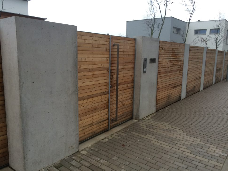 posuvná brána od firmy Seidler