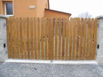 vjezdová brána okna-vrata