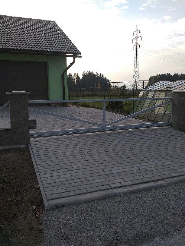 vjezdová brána od firmy Seidler