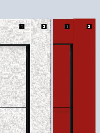 garážová vrata zárubně