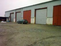 průmyslová garážová vrata Hormann