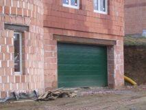 garážová vrata na dálkové ovládání