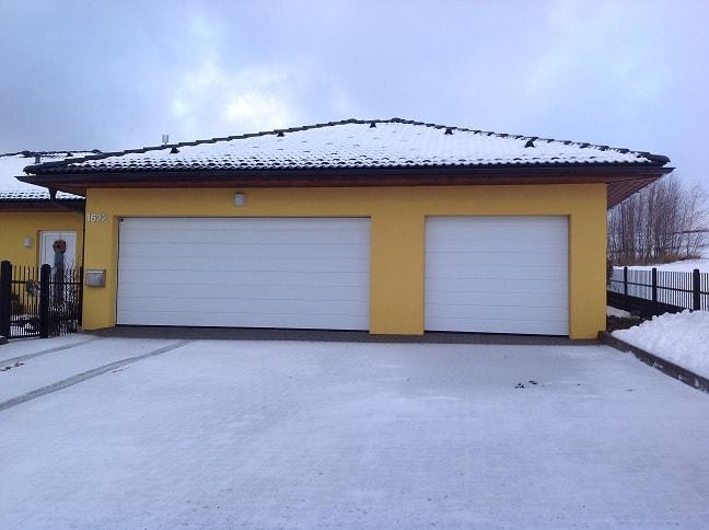 garážová vrata Hormann na míru