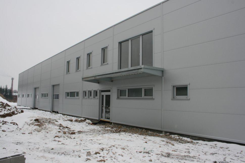 průmyslová vrata od firmy Seidler