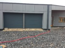 garazova vrata sekcni slevy
