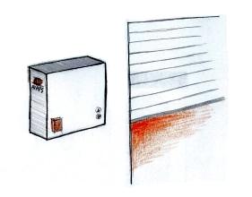protipožární vrata doplňky