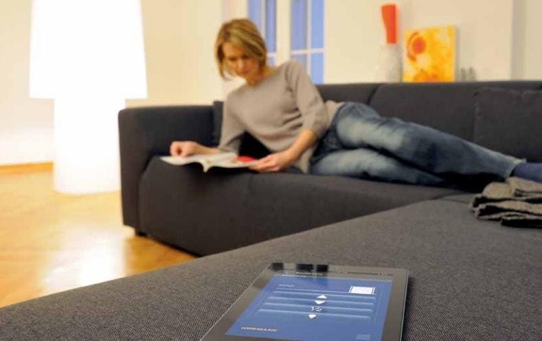 mobilní aplikace BiSecur dodaná firmou Seidler