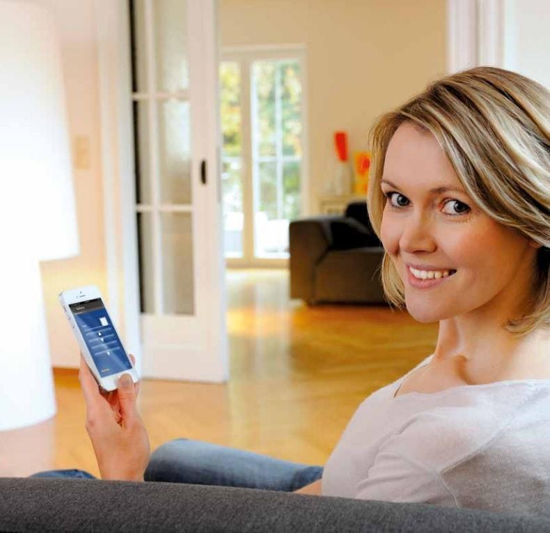 brána Bisecur Hörmann s mobilní aplikací od společnosti Seidler