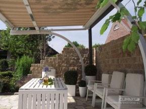 markýzy Climax na balkon či terasu, montované firmou Seidler