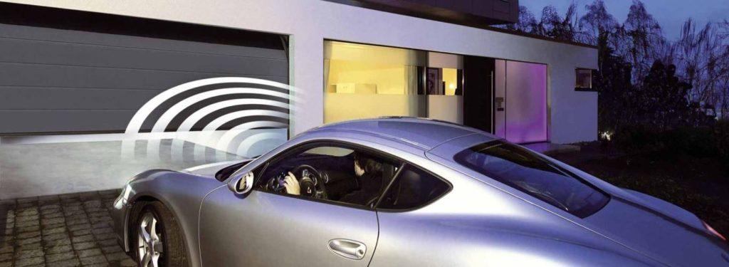 dálkové ovládání garážových vrat od firmy Seidler