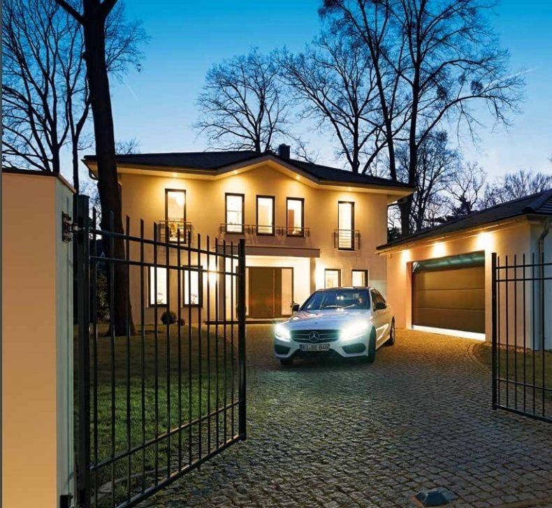 zabezpečení domu Hörmann montované firmou Seidler