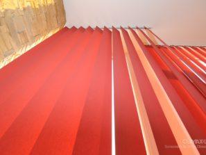 vertikální žaluzie climax červené